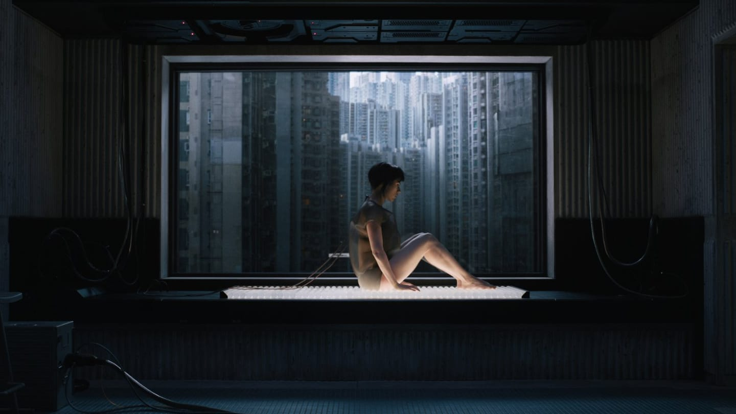 Screenshot del Film Ghost in the Shell