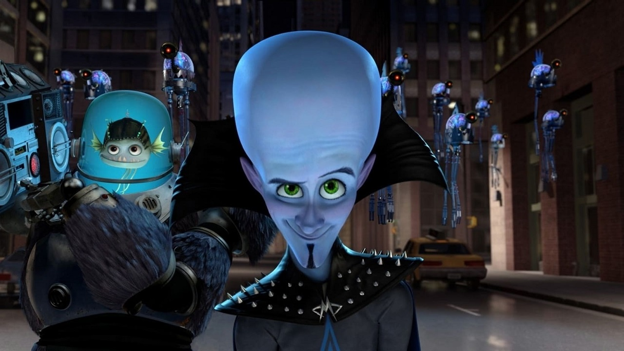 Screenshot del Film Megamind